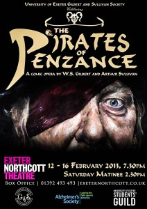 """Both posters employ distinctly """"pirate-y"""" fonts."""