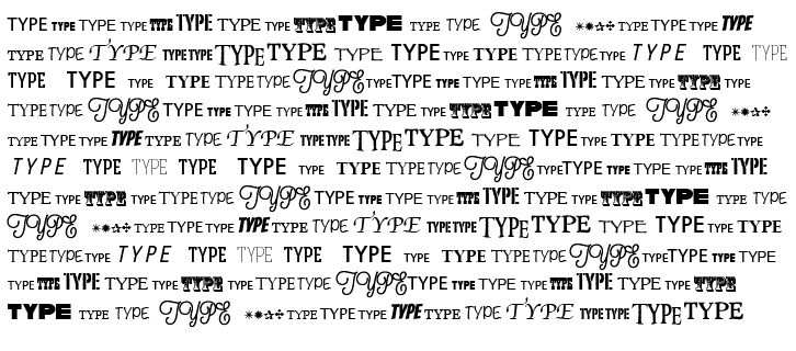 Typography: Connections to the past