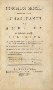 """Thomas Paine's """"Common Sense"""" was designed to capture a distinctly American audience."""