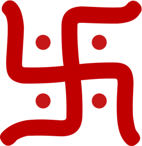 The Hindu Svastika represents a much different concept than the Nazis gave it during World War II.