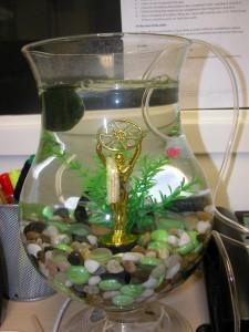 The Oscar Winning Fish Bowl.