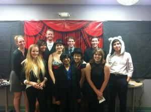 Scribendi 2014 staff on the Red Carpet.