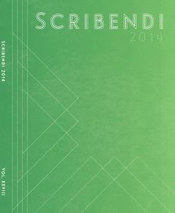 Scribendi 2014 Cover