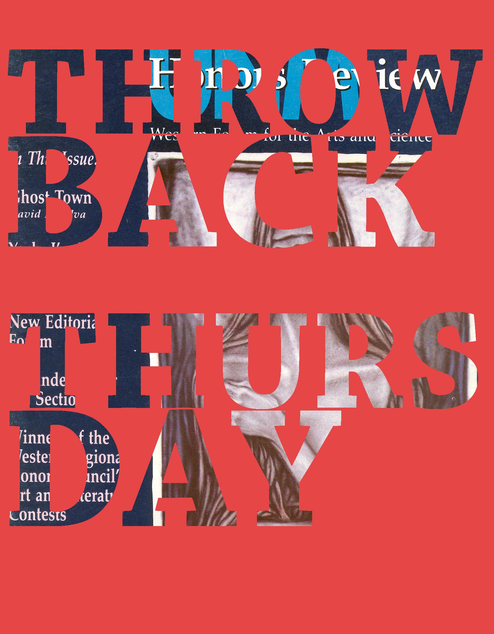 Throwback Thurdsay